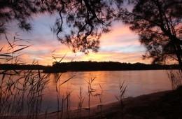 Narrabeen Lake - sunset